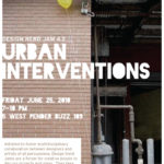 Design Nerd Jam 4.2 – Urban Interventions