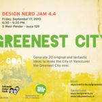 Design Nerd Jam 4.4 – GREENEST CITY