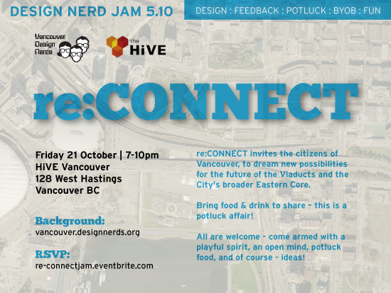 Design Nerd Jam 5.10 – re:CONNECT