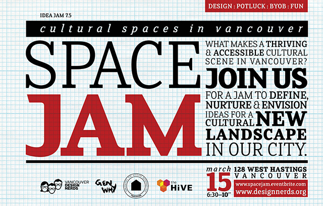 Space Jam – Cultural Spaces in Vancouver