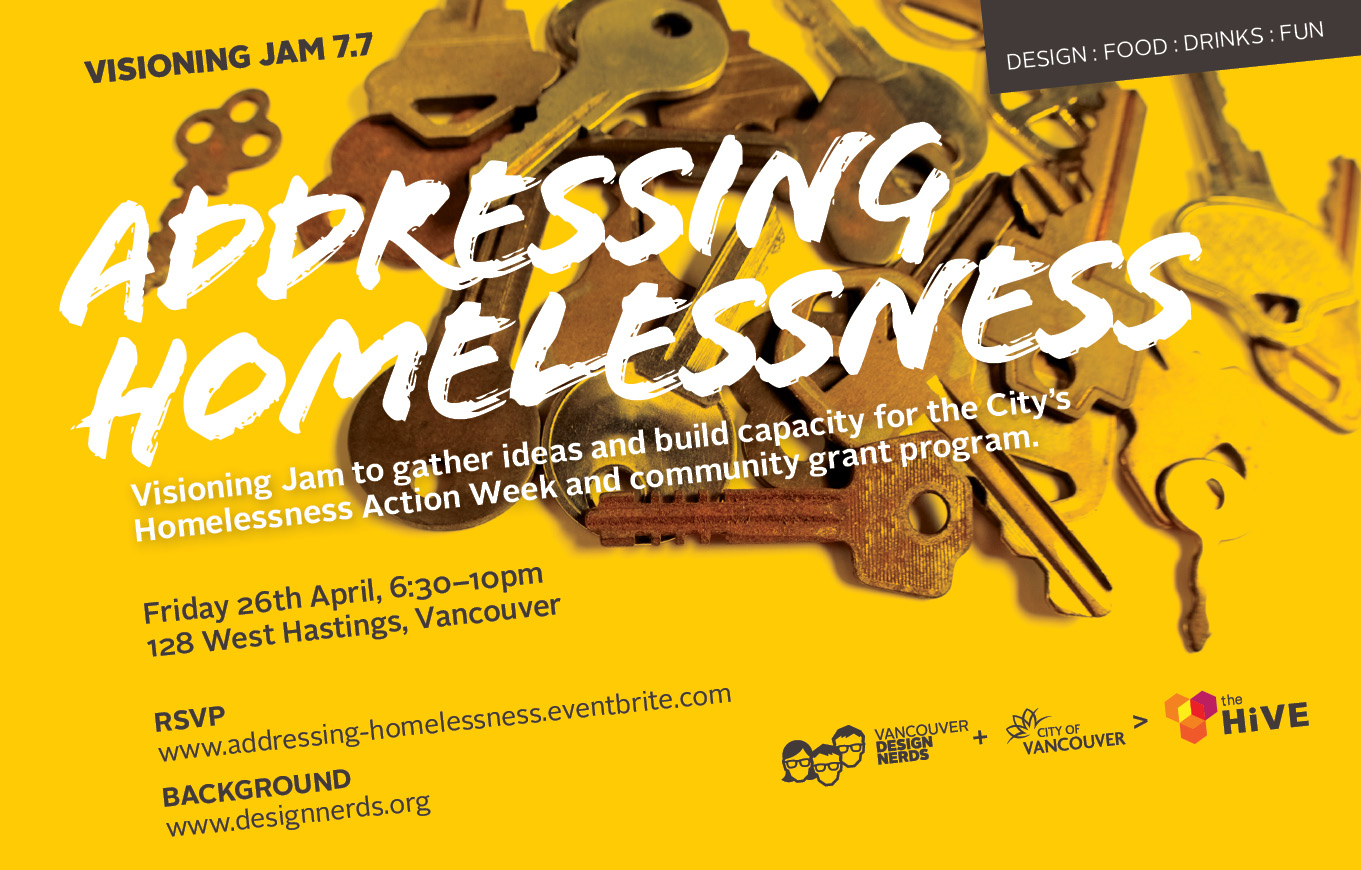 Visioning Jam: Addressing Homelessness