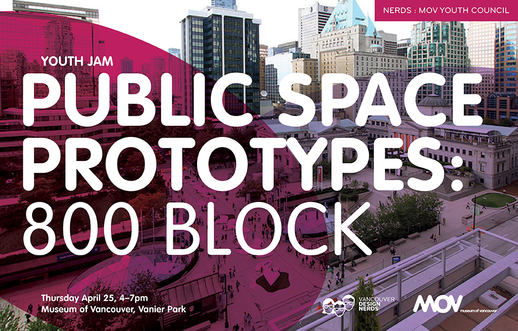 MOV Youth Council / Public Space Prototypes: 800 block