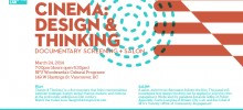 Community Cinema: 'Design & Thinking' documentary screening + salon