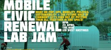 Mobile Civic renewal Lab Jam