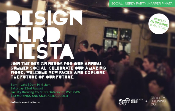 Design Nerd Fiesta Flyer